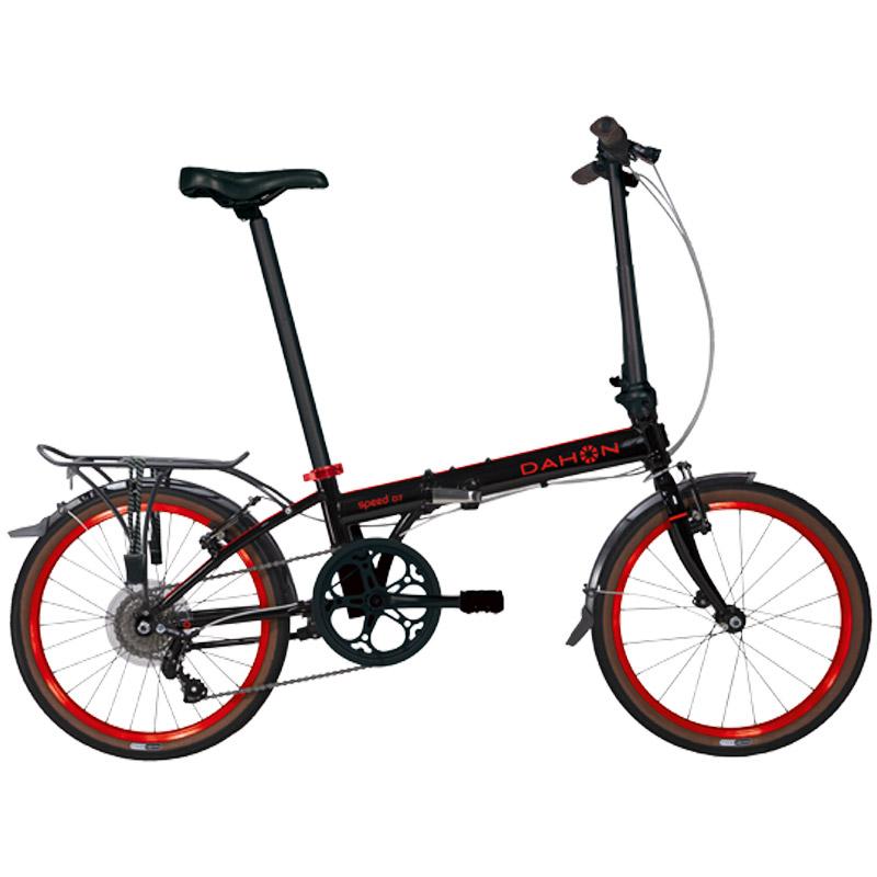 Dahon Speed D7 Street Folding Bicycle - Black/Red