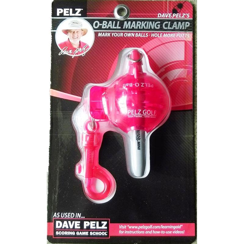 Dave Pelz O-Balls Marking Clamp