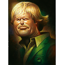 """David O'Keefe """"The Golden Bear - A Tribute to Jack Nicklaus"""""""