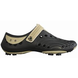 Dawgs Golf Spirit Shoes - Mens Black/Tan