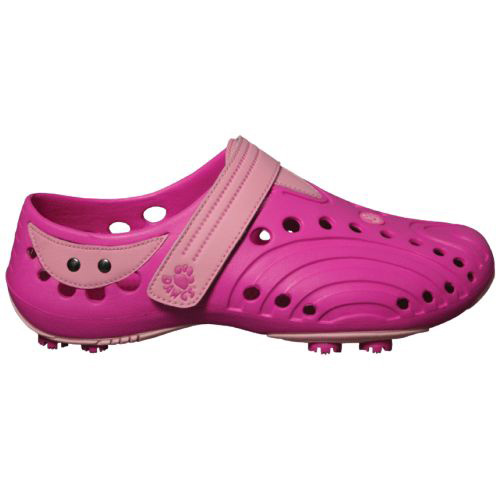 Dawgs Golf Spirit Shoes - Womens Hot Pink/Soft Pink