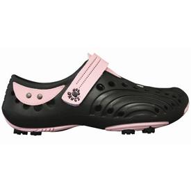 Dawgs Golf Spirit Shoes - Womens Black/Soft Pink