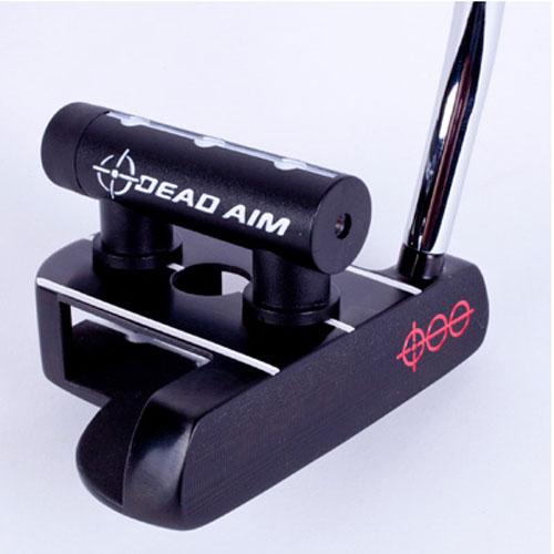 Dead Aim 3D Mallet Putter - Black