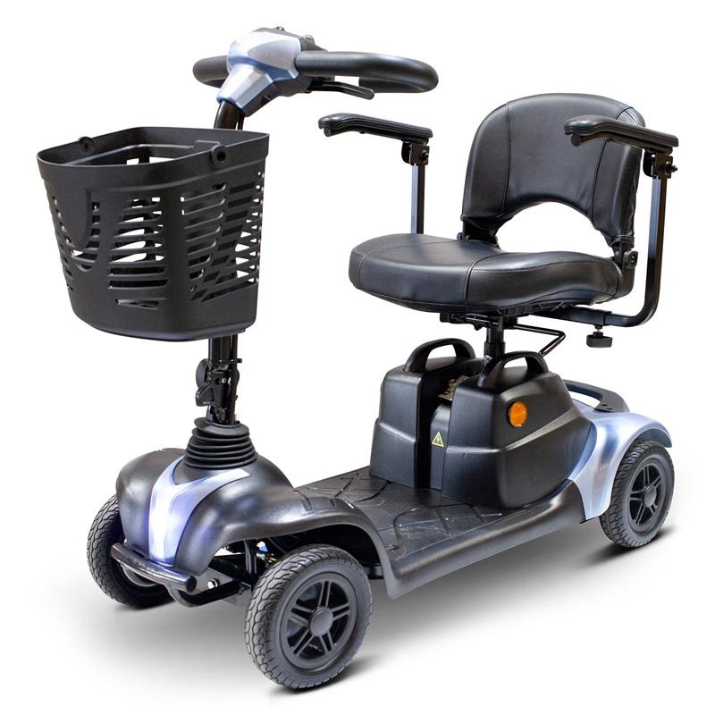 eWheels EW-39M Portable 4 Wheel Mobility Scooter - Blue