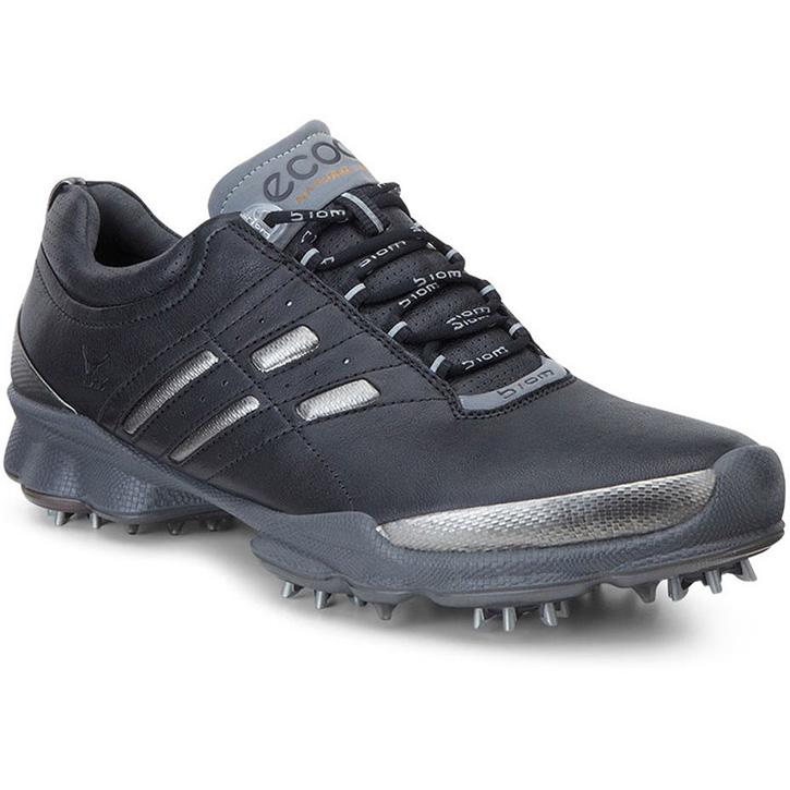 Ecco Biom Lace Golf Shoes - Mens Black