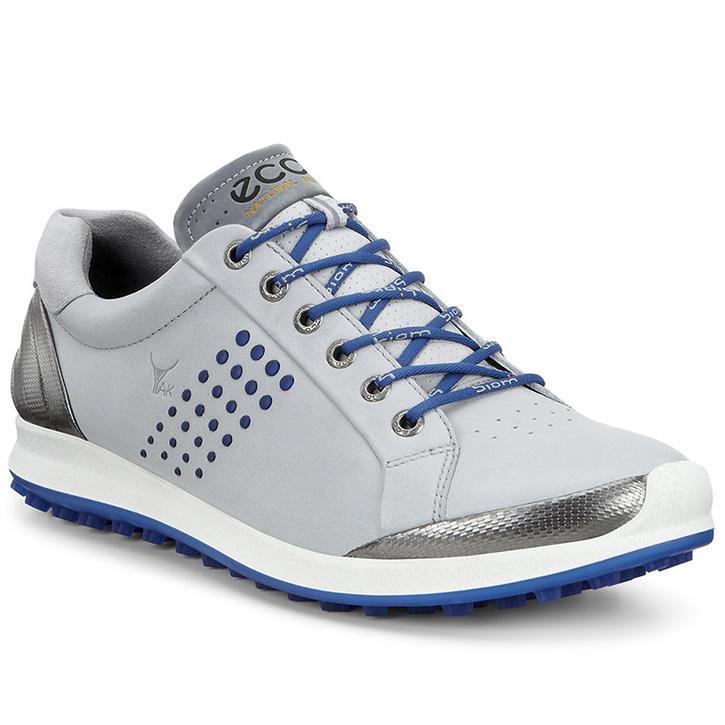 Ecco Biom Hybrid 2 Golf Shoes - Mens Concrete/Royal