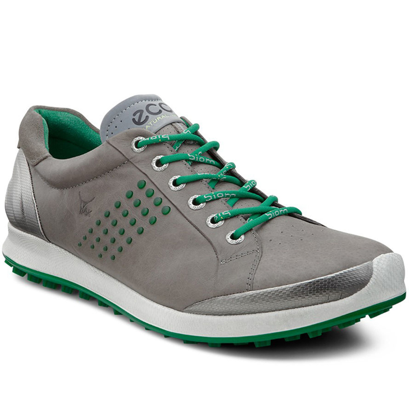 Ecco Biom Hybrid 2 Golf Shoes - Mens Grey/Green
