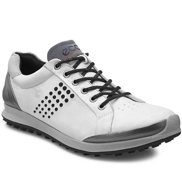 Ecco Biom Hybrid 2 Golf Shoes - Mens White/Black