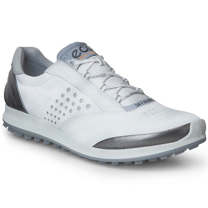 Ecco Biom Hybrid 2 Golf Shoes - Womens White/Silver