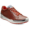 Ecco Biom Hybrid Golf Shoes - Mens Mahogany/Fire