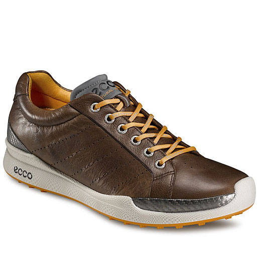 Home > Ecco Biom Hybrid Golf Shoes - Mens Cocoa Brown/Fanta