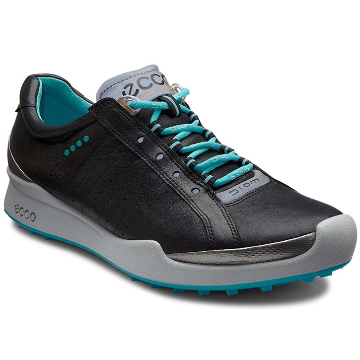 Womens Shoes ECCO Golf Biom Hybrid Black/Turquoise