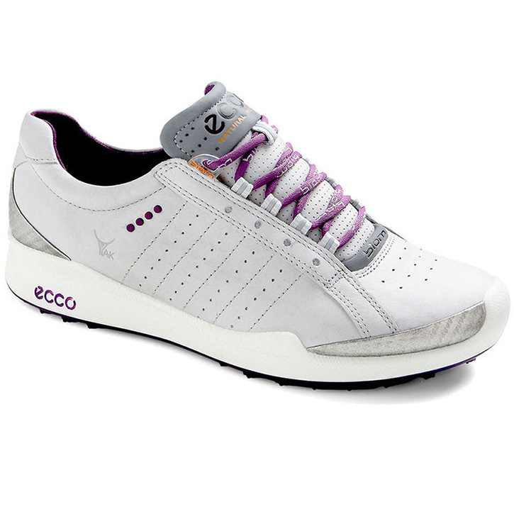 Home > Ecco Biom Hybrid Sport Golf Shoes - Womens Concrete/Purple