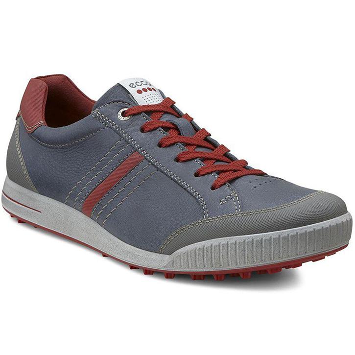 Ecco Street Retro Golf Shoes - Mens Ombre/Brick