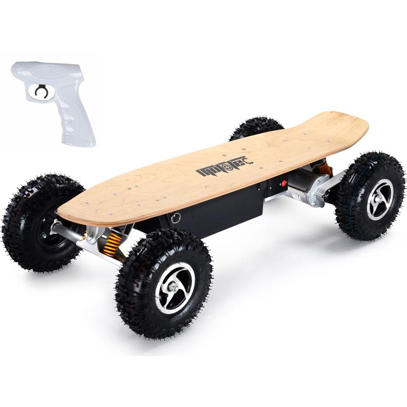 MotoTec 1600w Dirt Electric Skateboard - Dual Motors