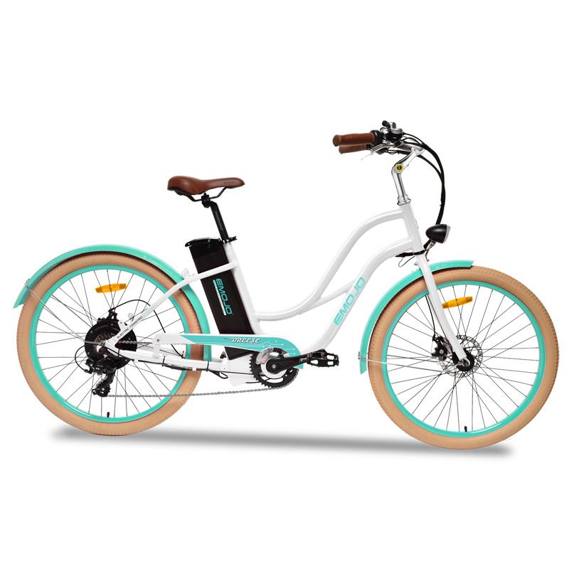 Emojo Breeze Electric Bicycle - White