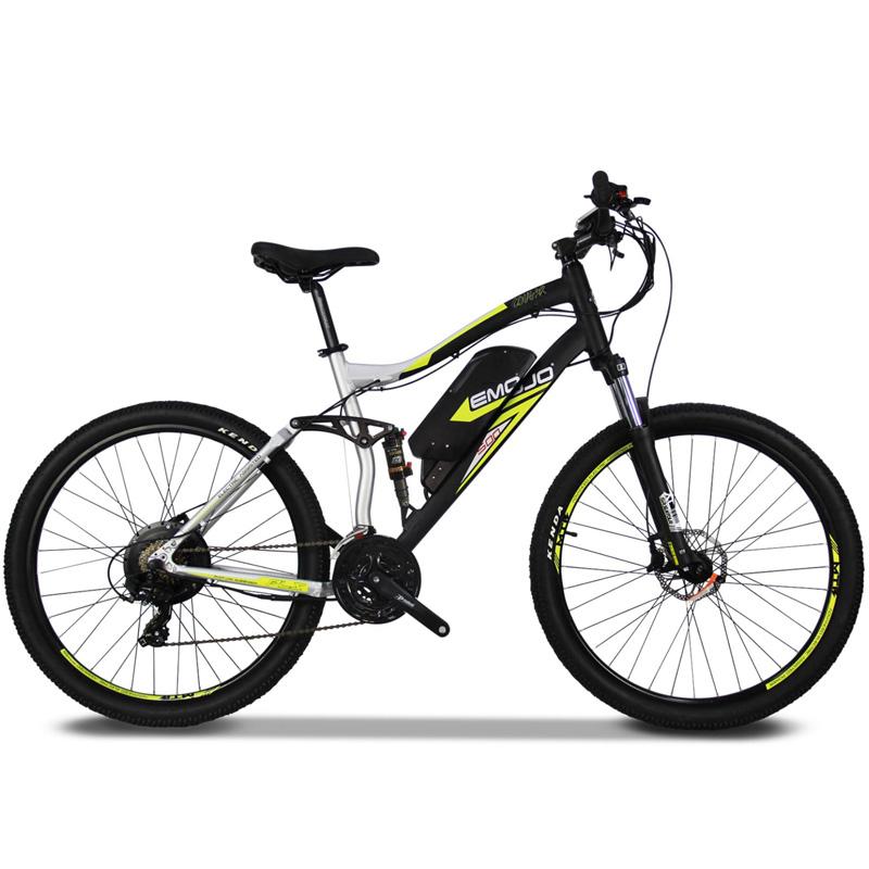 Emojo Cougar Electric Mountain Bike - Silver