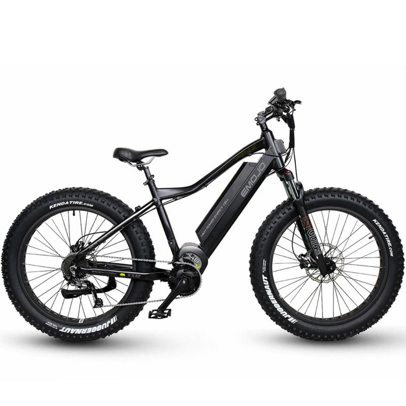 Emojo Prowler Fat Tire Electric Bike - Black