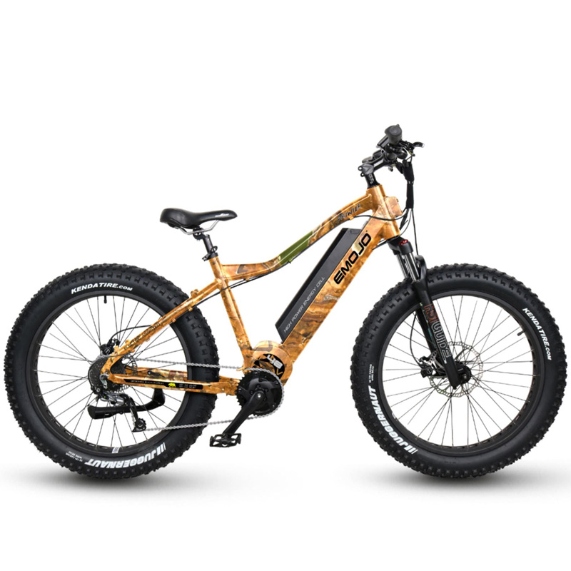 Emojo Prowler Fat Tire Electric Bike - Camo