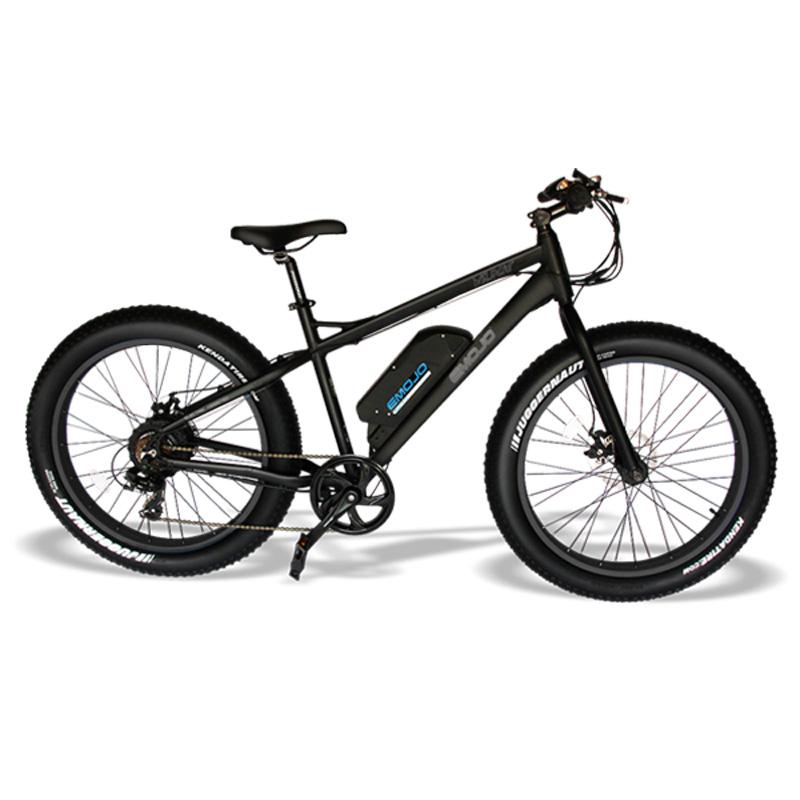 Emojo Wildcat Electric Mountain Bike - Black