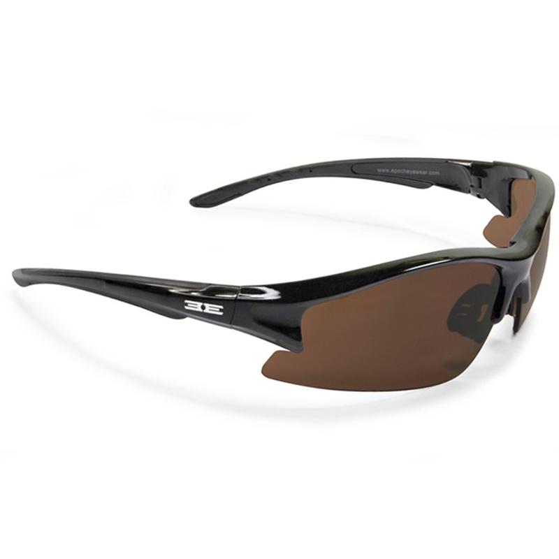 Epoch Eyewear Sunglasses - Epoch 1 - Black Frame / Brown Lens