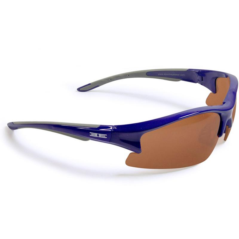 Epoch Eyewear Sunglasses - Epoch 1 - Blue Frame / Amber Lens