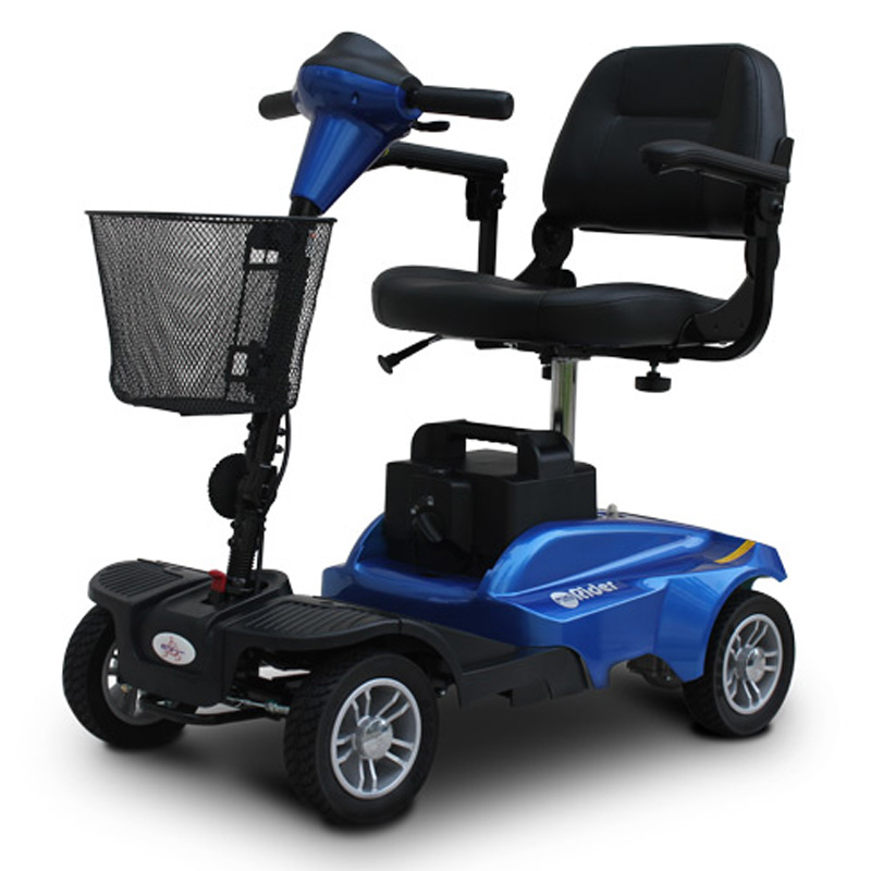 EV Rider Mini Rider - 4 Wheel Mobility Scooter - Blue