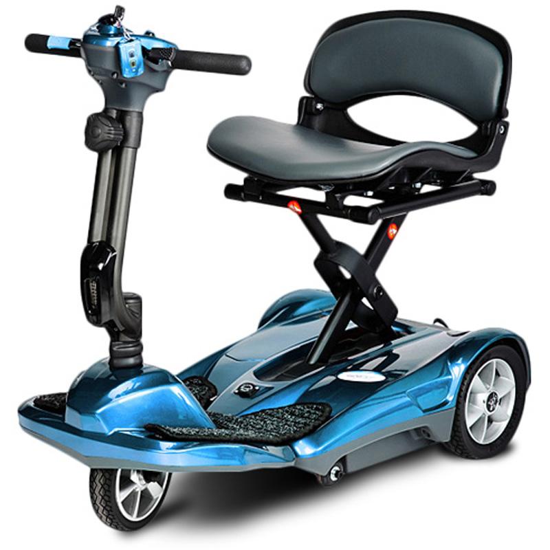 EV Rider Tranport AF Mobility Scooter - Auto Folding - Blue