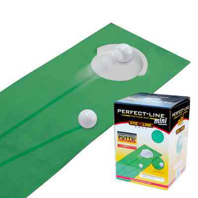 EyeLine Golf Perfect Line Mini Putting Mat (8 x9')