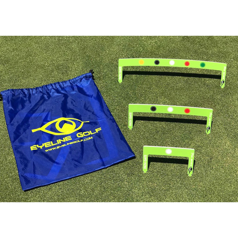 EyeLine Golf Putting Path Gates (3 Pack)
