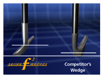 F2 Golf Face Forward Wedge
