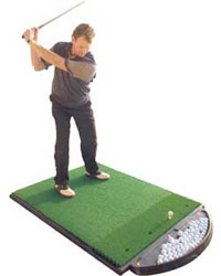 Fiberbuilt 4x5 Golf Hitting Mat