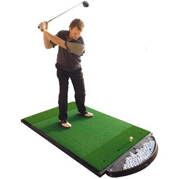 Fiberbuilt 4'x6' Dual Sided Golf Hitting Mat
