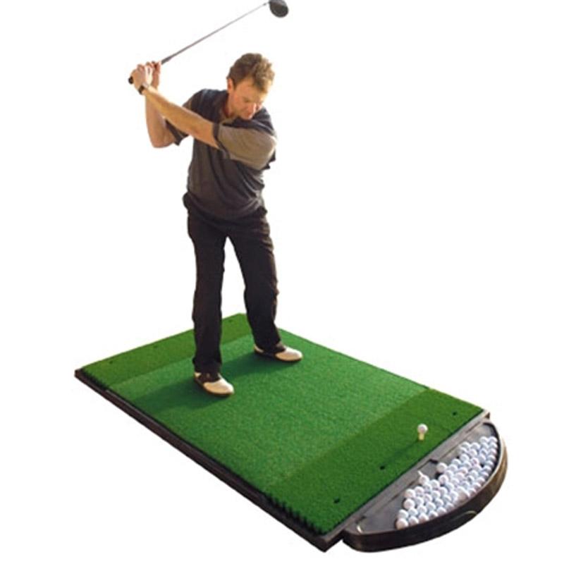 Fiberbuilt 4 X6 Dual Sided Golf Hitting Mat At