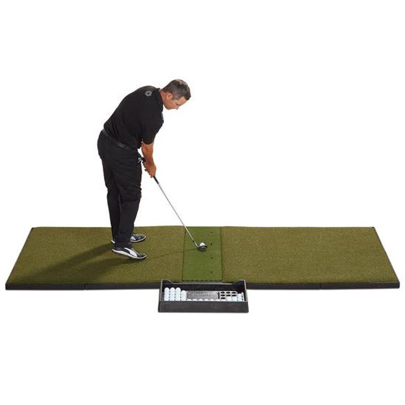 Fiberbuilt Studio Golf Hitting Mat - Center Hitting 4'x9'