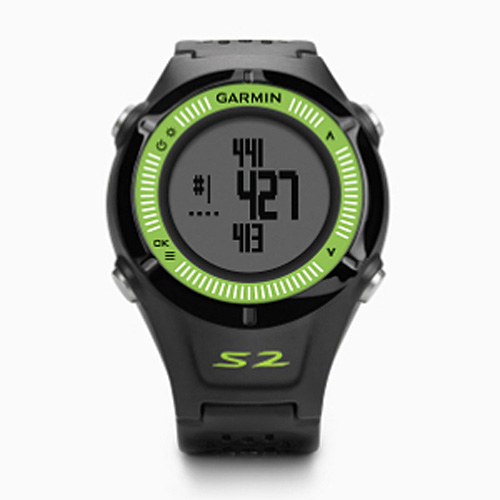 garmin approach s2 gps golf black green at