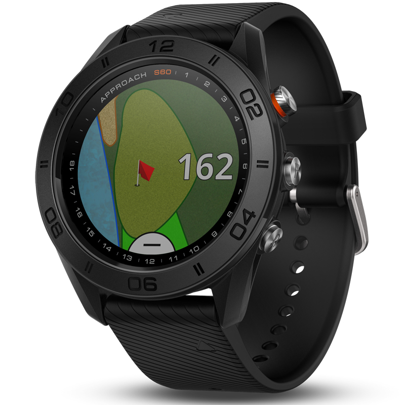 Garmin Approach S60 GPS Golf Watch - Black