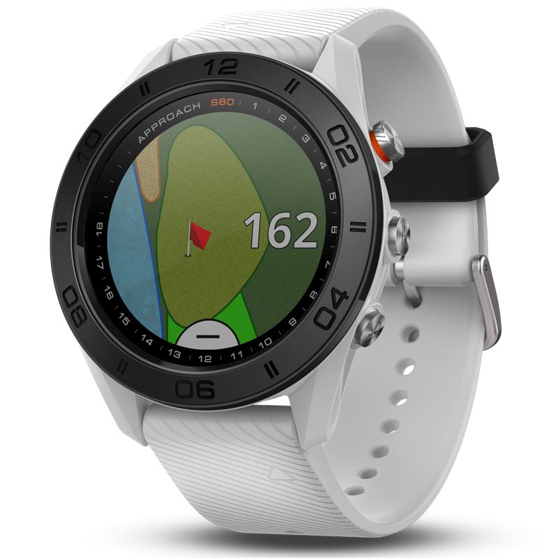 Garmin Approach S60 GPS Golf Watch - White