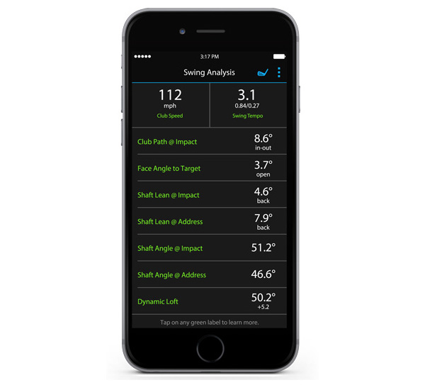 garmin truswing golf swing analyzer