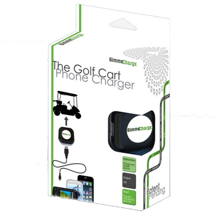 GimmeCharge Golf Cart Phone Charger