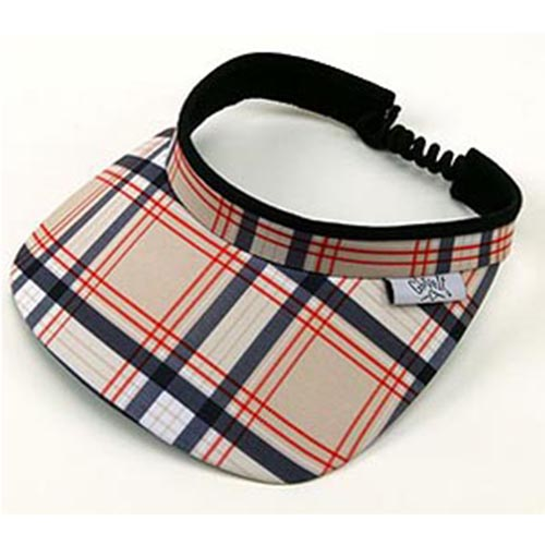 Glove-It Scottie Plaid Visor