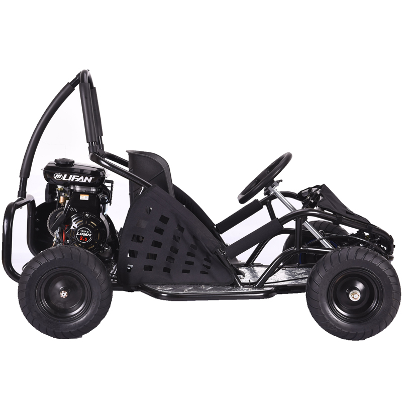 Go-Bowen Baja 79cc Gas Kids Go-Kart - Black