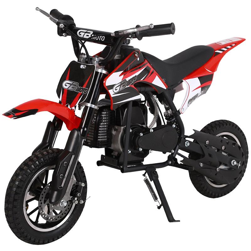Go-Bowen Dakar Mini Dirt Bike - 49cc 2-Stroke - Red/Black