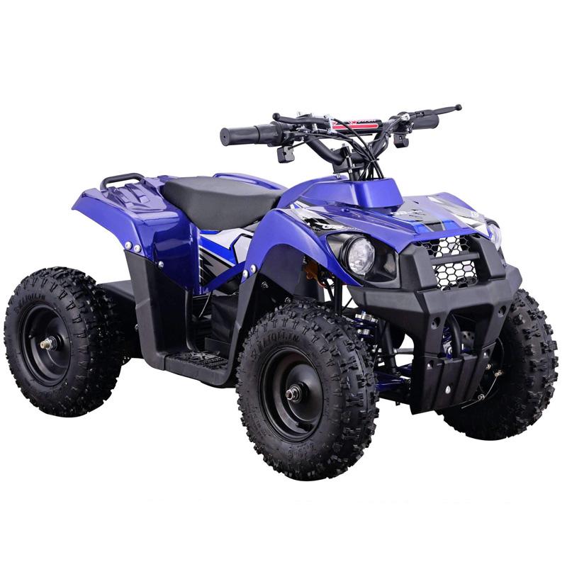Go-Bowen Monster 500W 36V Kids Mini Quad - Blue