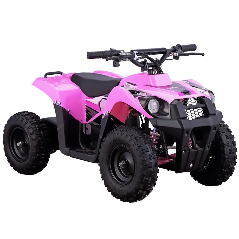 Go-Bowen Monster 500W 36V Kids Mini Quad - Pink