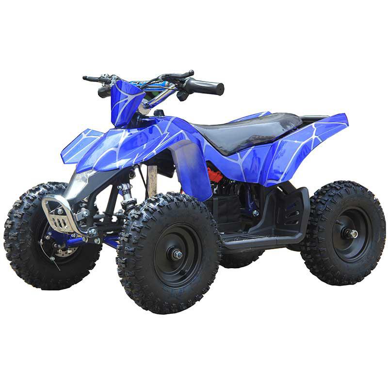 Go-Bowen Sahara X 350W 24V Kids Mini Quad - Blue Spider