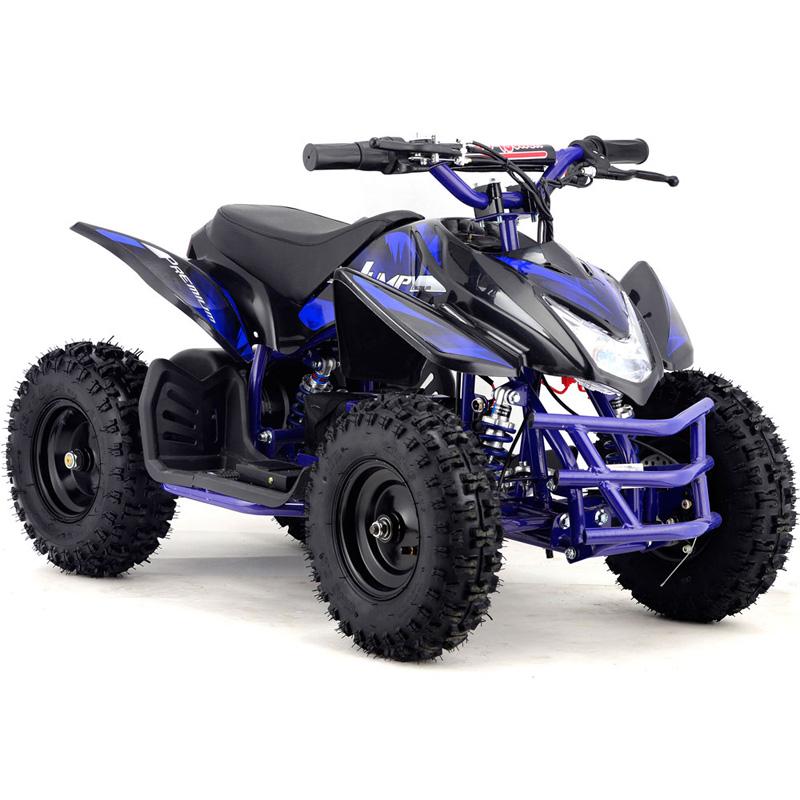 Go-Bowen Titan 350W 24V Kids ATV Mini Quad - Blue