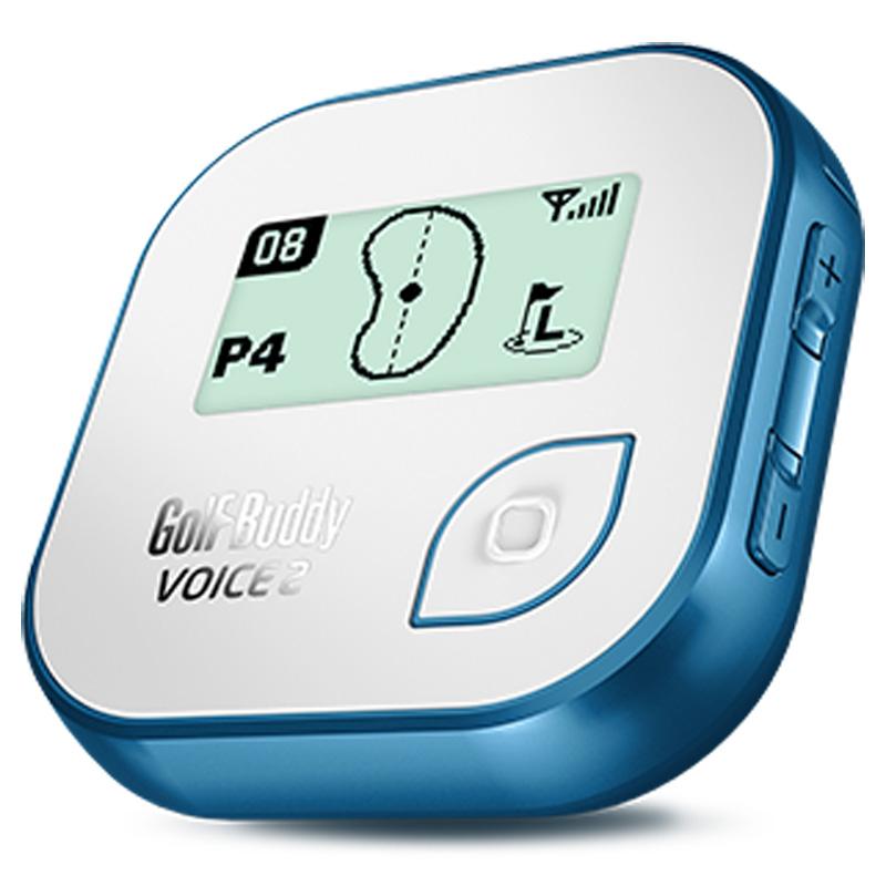 Golf Buddy Voice 2 Golf GPS - White/Blue