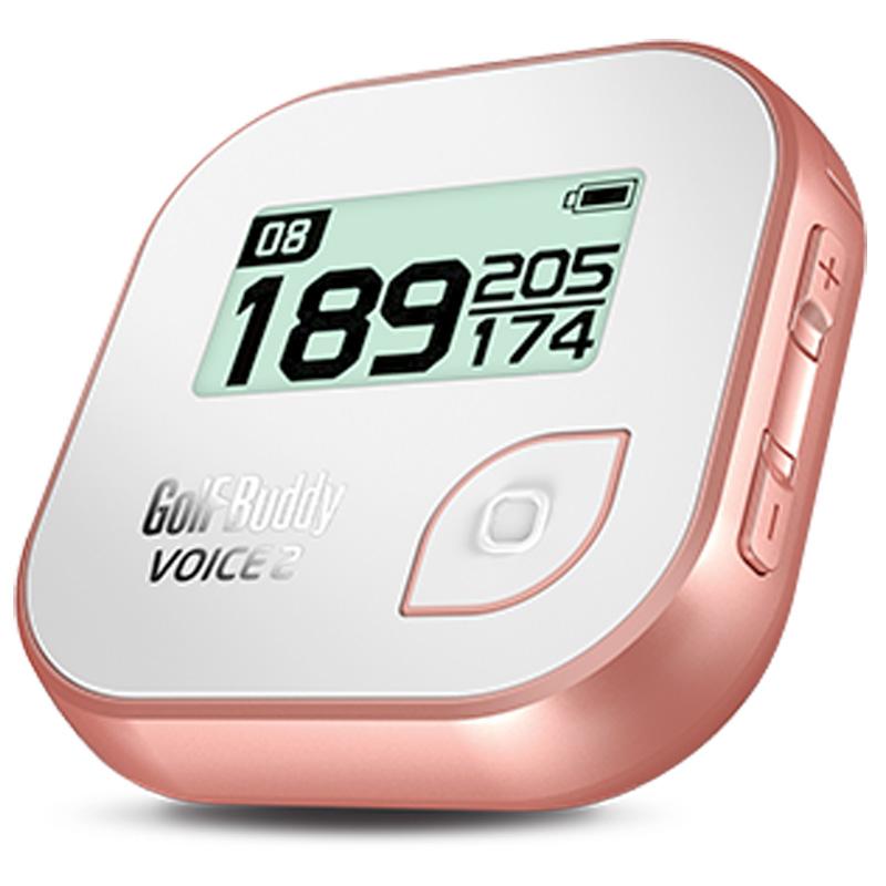 Golf Buddy Voice 2 Golf GPS - White/Rose Gold