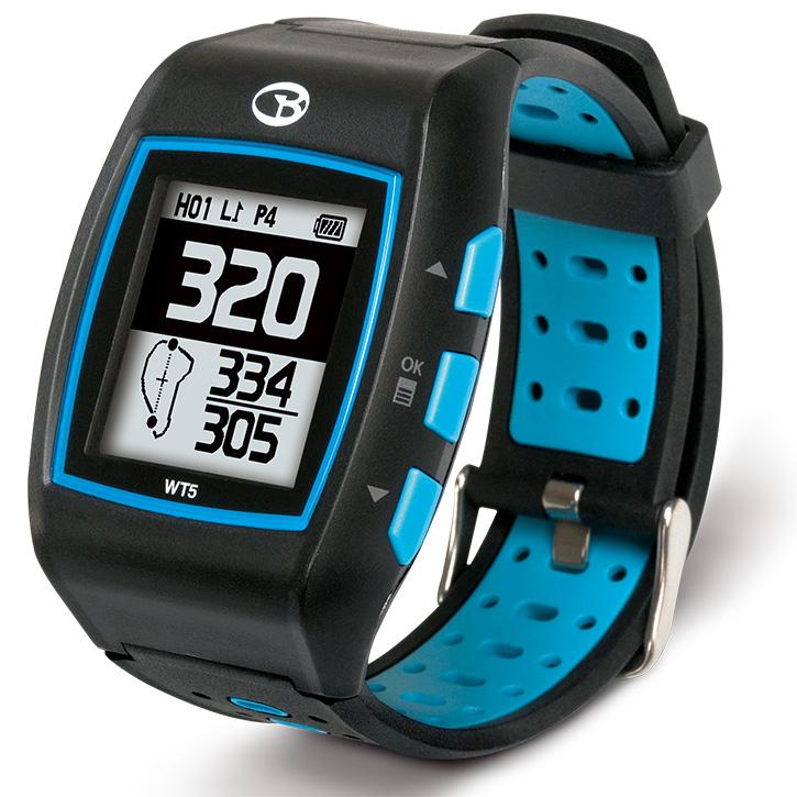 Golf Buddy WT5 GPS Golf Watch - Black/Blue w/ $20 Mail in Rebate